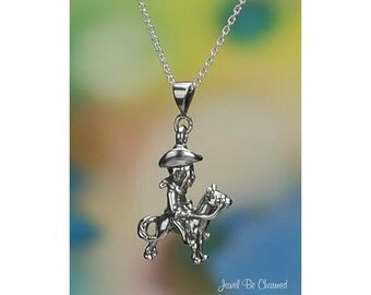 """Sterling Silver Teddy Roosevelt Necklace 16-24"""" or Pendant Only .925"""