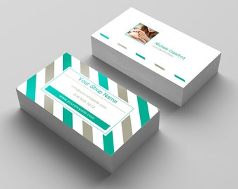 Stripe Business Card, Personalized Custom Stripe Business Card, Personalized Business Card, Stripe Business Card Design, FREE Shipping