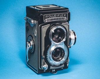 Vintage Rolleiflex 3.5T TLR Camera