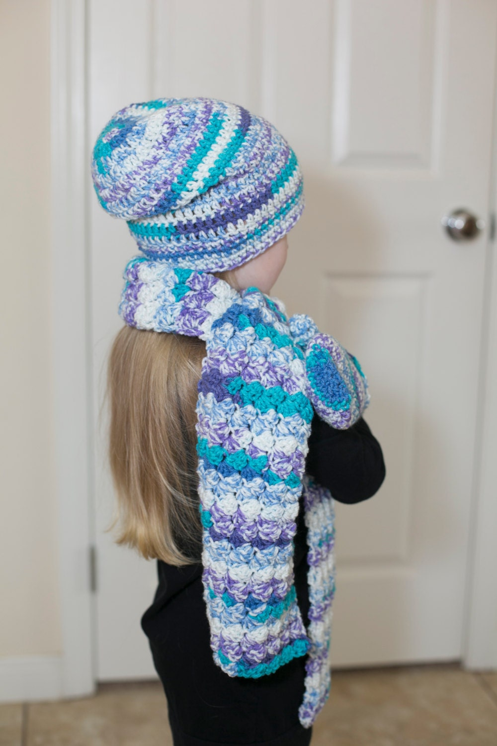 crochet scarves beanies and mittens crochet hat