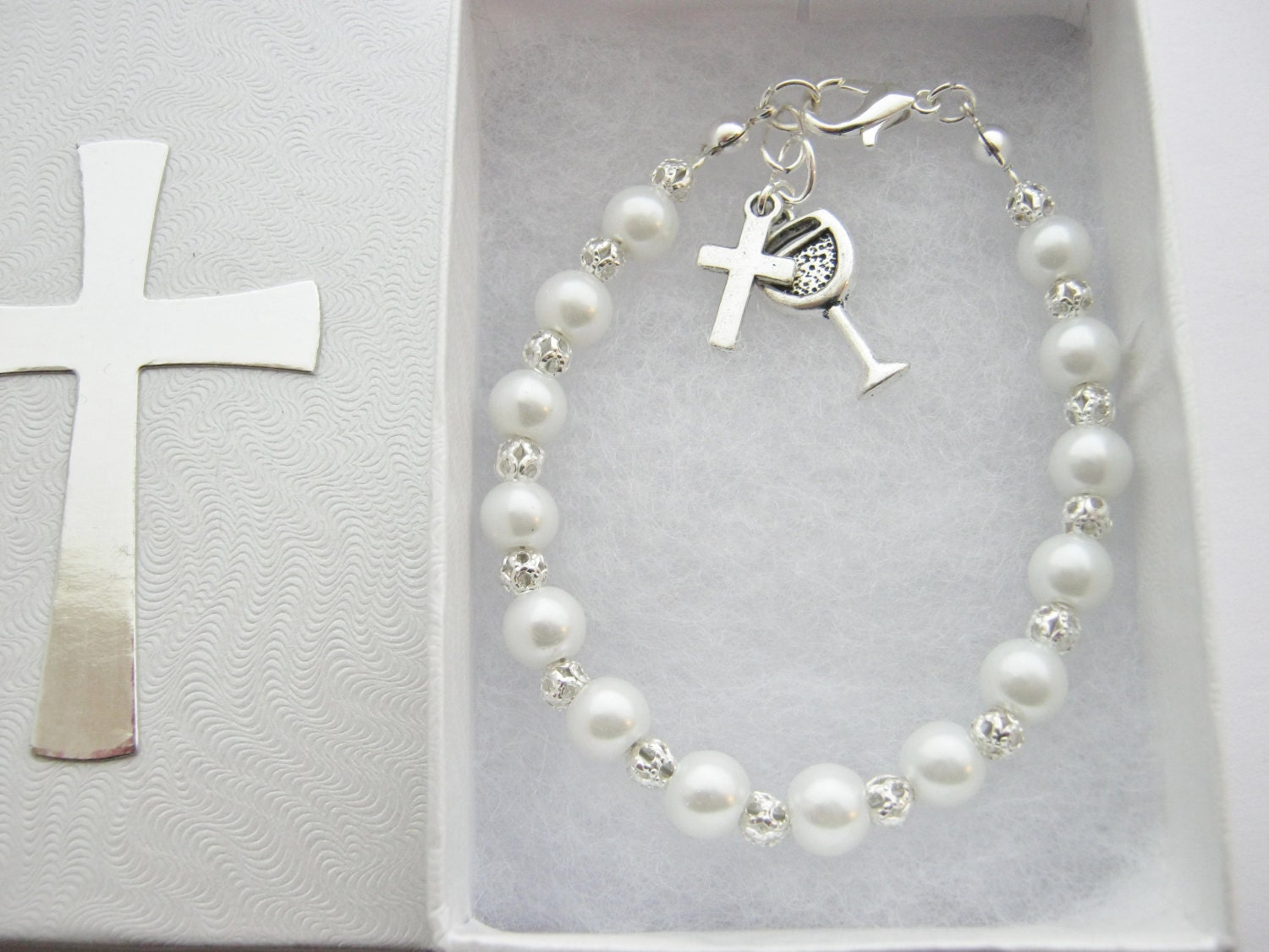 First Holy Communion Bracelet First Communion Gifts Girls