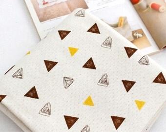 Organic Knit Fabric Triangle By The Yard