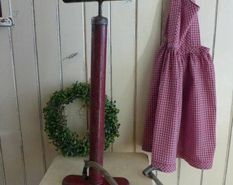 Old bicycle pump, vintage, bicycle, brocante, antiques, pump,sport