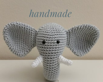 Baby Rassel / Rattle Elefant