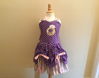 princess dress Roxey ring,custom made,dress size 18 months-12, back out dress