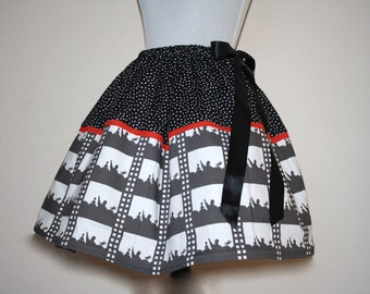 MST3K Mystery Science Theatre 3000 Skirt for Gals, All Sizes, Plus Size