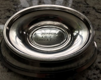 Silver-plated / silver soldered vintage Reed and Barton bowl for Lord and Taylor of New York City a elegant & well made piece  for the table