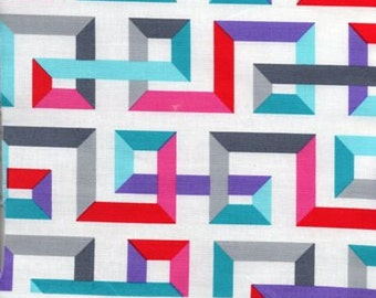 Multi-colored Geometric Design by Mims for Kaufman