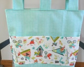 Walker Bag, Walker Tote, Carry all, Walker Caddy, Bed Rail Bag, Lawn Chair Caddy