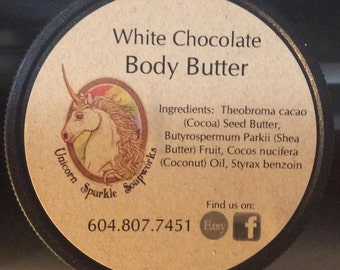 White Chocolate All Natural Body Butter