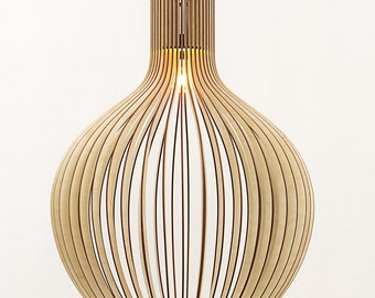 Already ASSEMBLED Wooden lamp / wooden hanging lamp / pendant lamp / hanging lamp / wood lamp / wood lamps / pendant lights