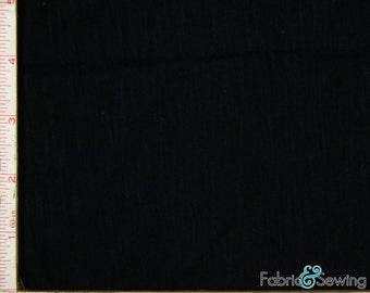 "Black Techno Scuba Novelty Stretch Fabric 4 Way Stretch Polyester Spandex 58-60"""