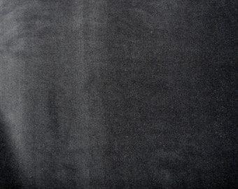 Fabric - Stretch velvet fabric - black