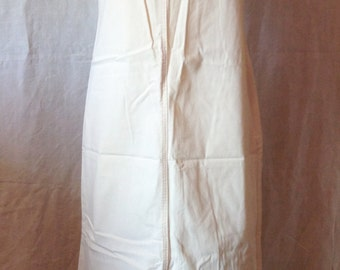 Long dress, vintage, Ecru / cream, Rica Lewis, T S.