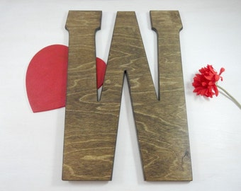 Wood Wedding Letters Photo Props Alternative Guest Books Signature Letters Wall Letters Large Wood Letters Home Decor Wedding Decor