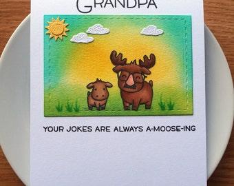 father's day card // funny father's day card // father's day card for grandpa // birthday card for grandpa // giftcard holder card