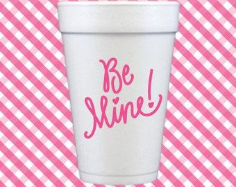 Be Mine! Valentine Foam Cups (Qty 24)