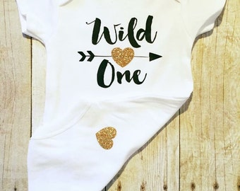 Wild One Bodysuit   Wild One Shirt for Baby   Wild One Party   Wild One   First Birthday Outfit   One Shirt   Toddler Shirts