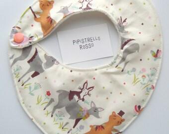 Bandana bib & burping cloth organic cotton, baby gift organic cotton bandana bib