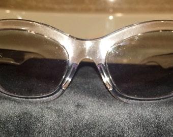 Prada PR19MS Clear Cat Eye Sunglasses