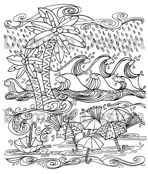 ocean storm coloring pages - photo#33