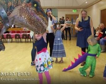 Handmade Kids Dressing Up Dinosaur Tail