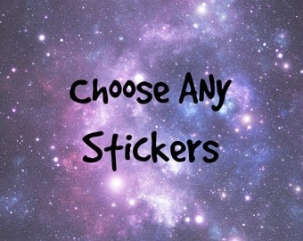 Choose Any Stickers