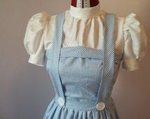 Handmade Dorothy Gale costume, Wizard of Oz inspired costume