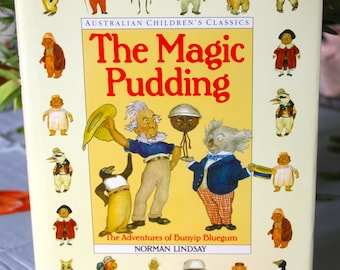 Classic Childrens Book The Magic Pudding By Norman Lindsay