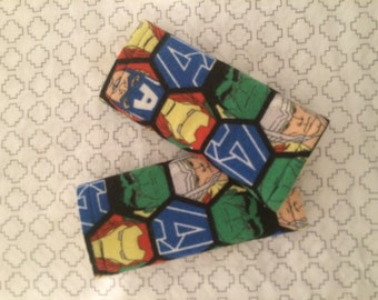 The Avengers Infant Car Seat Strap Covers