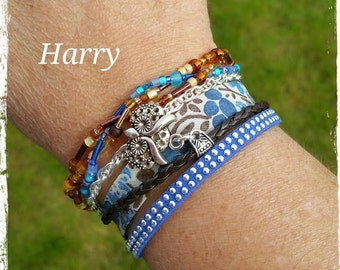 """Cuff multi-row collection """"Summer"""" Harry"""
