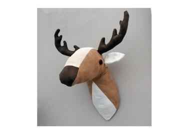 Deer head faux taxidermy