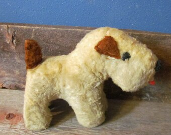 Vintage 1950's Gund J. Swedlin Sani-Foam Stuffed Dog