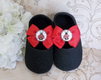 Ladybug Birthday Outfit - Ladybug Birthday - Ladybug Shoes - Ladybug First Birthday Outfit - Ladybug First Birthday -  Ladybug Tutu Outfit
