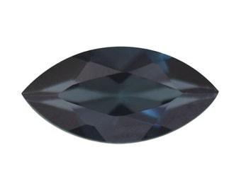 Blue Indicolite Tourmaline Gemstone Marquise Cut 1A Quality 6x3mm TGW 0.15 cts.