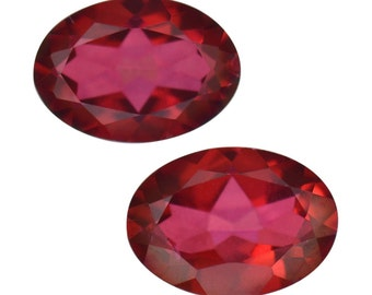 Mystic Azo Chic Mystic Topaz Oval Cut Loose Gemstones Set of 2 1A Quality 7x5mm TGW 1.65 cts.