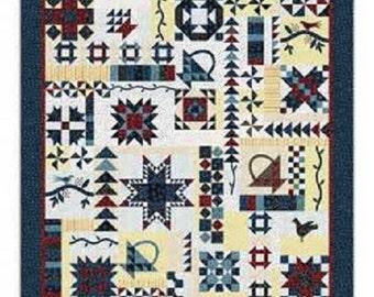 Vintage Sampler Quilt Kit By Barbara J Eikmeier