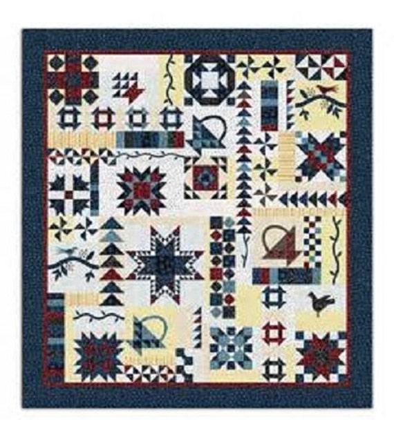 Vintage Sampler Quilt Pattern By Barbara J Eikmeier