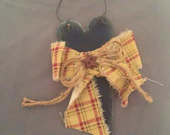 Heart Primitive Ornament