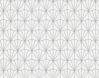 Modern Geometric Fan Wallpaper R4395