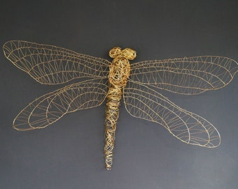 Beautiful large Dragonfly sculpture