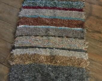 Hand woven rug