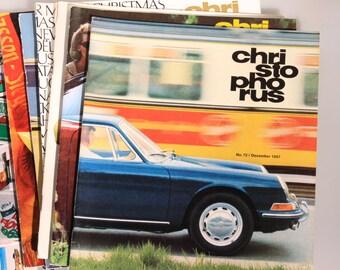 Christophorus Porsche Magazine Single Issues/whole years 1965 to 1971, Vintage Porsche magazines, Christophorus magazine, great condition