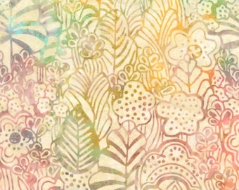 Tonga Batiks by Timeless Treasures - Taxi Floral Taffy
