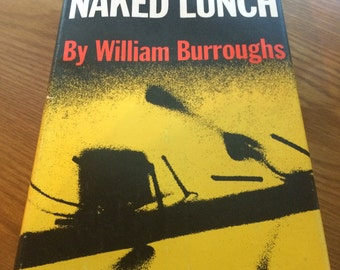 Naked Lunch William Burroughs 1st Edition 2nd Printing Great Condition!