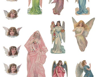 Fairy Godmother and Angels Digital Download