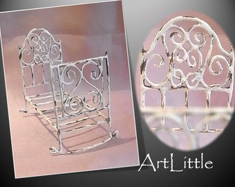 Nice design vintage crib