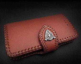 Leather iPhone 6/6s Flip Case K01E06