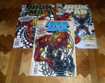 Iron Man 307, 308 & 309, (1994), Marvel Comics IJ