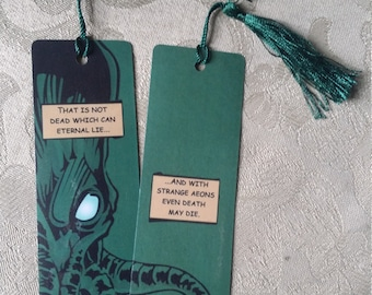 Cthulhu bookmark: Comic-book style